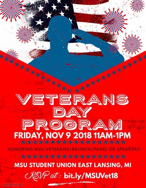 Veterans brunch information