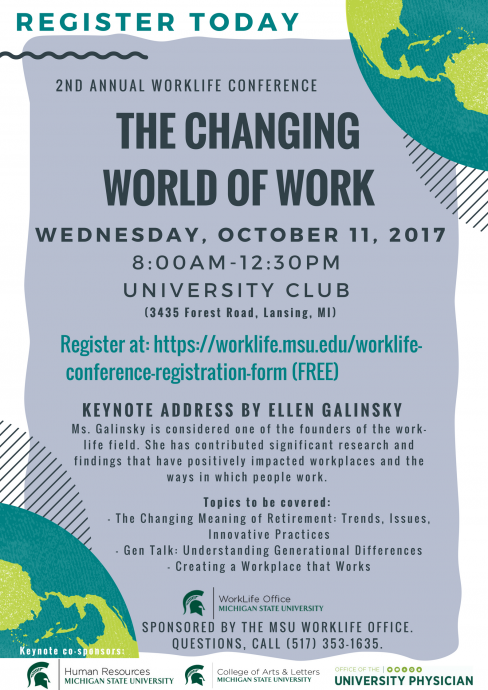 Changing World of Work Flyer