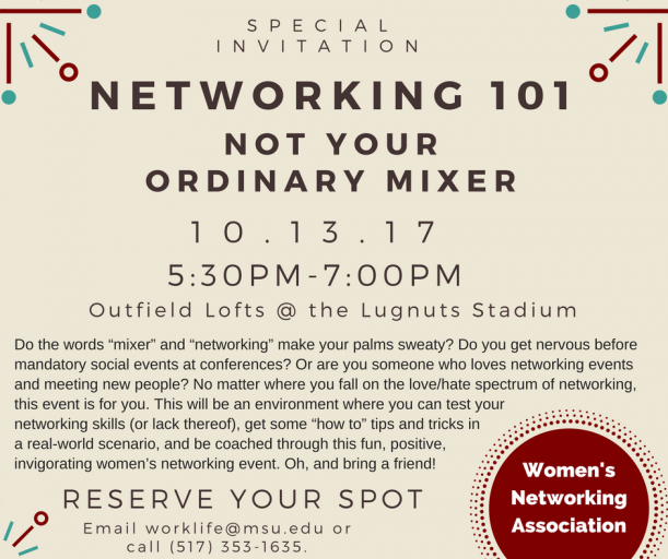 Picture of Networking Event flyer